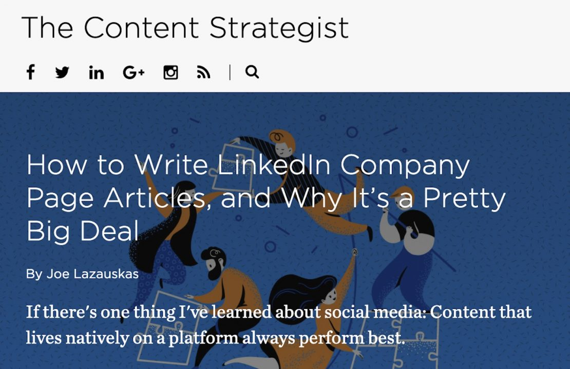contently the content strategist
